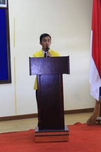 Ketua pelaksana rapat kerja BEM FIK UNNES 2013